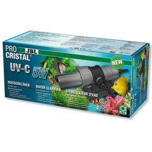 JBL ProCristal UV-C 5w Pond Uv / Clarifier