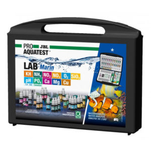 highly accurate testing of saltwater aquariums with the Pro Test Lab Marin