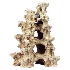 Aquaroche pieces are ceramic, porous rocks, that make for realistic décor items in your tank.