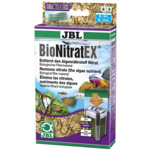 JBL BioNitratEx Nitrate remover is inexpensive and easy to use and you will get great results.