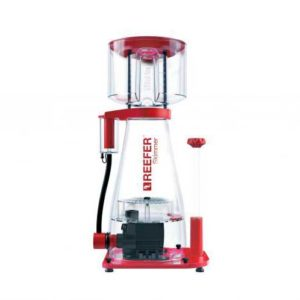 Red Sea Reefer Skimmer 600 protein skimmer is whisper quiet thanks to rubber connectors which dampen the vibrations as well as a robust air silencer