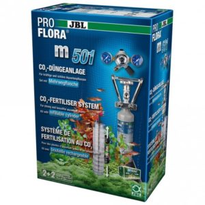 JBL PROFLORA m501 CO2 fertiliser system with refillable cylinder for the best feeding of fast and slow growing plants in freshwater aquariums up to 400 l