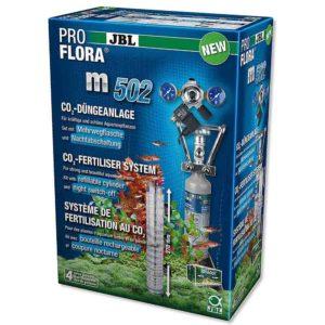 Grow lushes healthy aquarium plants with this JBL ProFlora Co2 set