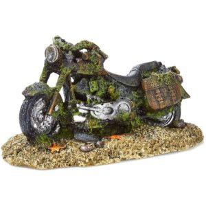 Classic Motorbike Wreckage