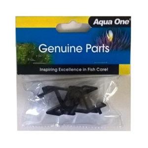 Aqua One Lid Hinge 320/320T/500, 340, 300/600 (Black x2) - 11061BK