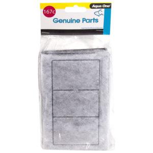Aqua One Carbon Cartridge (2pk) - 167c