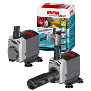 """The Eheim CompactON 300 footprint is tiny for such a powerful pump, thus the name """"Compact"""". At only 72mm Long x 38mm wide x 62mm high fitment is easy even in confined spaces."""