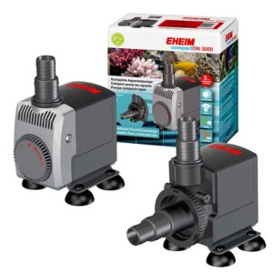 The Eheim CompactON 3000 pump from Eheim has all you would expect of a German built pump, especially quality.