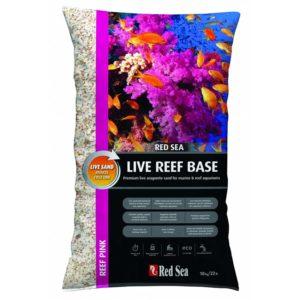 Red Sea Reef Pink Live Aragonite Sand 10kg