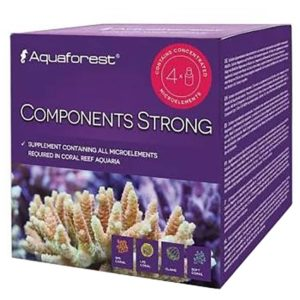 Aquaforest Components A-B-C-K Strong Set 4 X 75ml