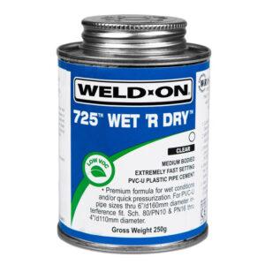 Weld On 725 Wet&Dry 250g