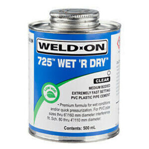 Weld On 725 Wet&Dry 473ml