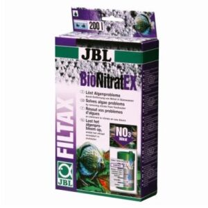 JBL BioNitratEx is the best and easiest to use nitrate remover for freshwater aquariums or saltwater fish tanks