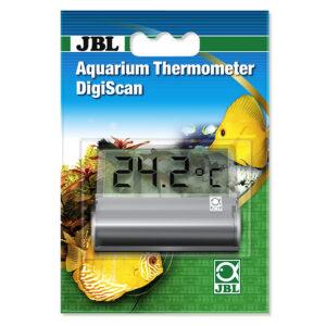 JBL Aquarium Thermometer DigiScan for on easy to read aquarium temperature display.