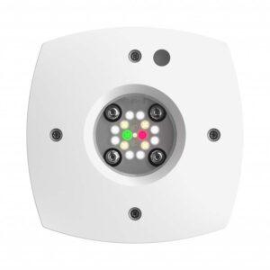 The Ai Prime 16HD White freshwater light has all the same full spectrum cluster