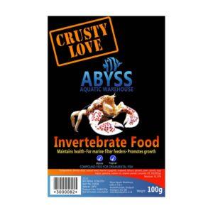 Abyss Frozen Invertebrate Food 100g
