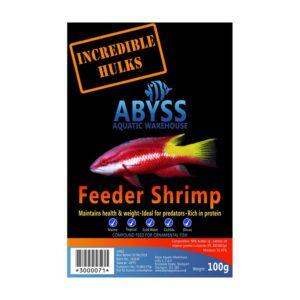 Abyss Frozen Feeder Shrimp 100g