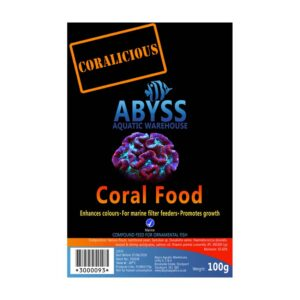 Abyss Frozen Coral Food 100g