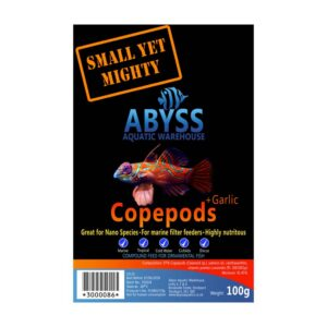 Abyss Frozen Copepods + Garlic 100g