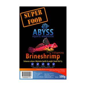 Abyss Frozen Brineshrimp 100g