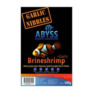 Abyss Frozen Brineshrimp + Garlic 100g