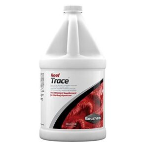 Seachem Reef Trace supplies a broad range of trace elements