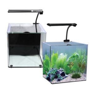 Aqua one Aquanano 40 tropical aquarium 55 litre great little nano tank for saltwater or freshwater