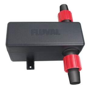 The Fluval UVC In-line Clarifier or Fluval inline sterilizer can be quickly and easily connected to most canister filter setups
