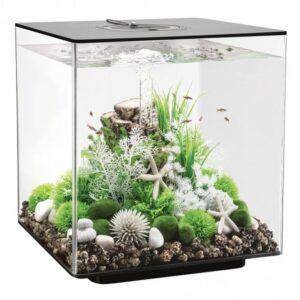 biOrb CUBE 60L Black Aquarium with MCR LED Lighting