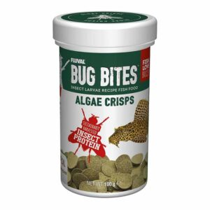 Fluval Bug Bites Algae Wafers 100g great food for Plecos