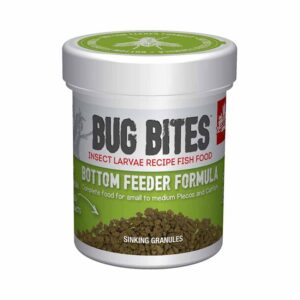 perfect food for bottom feeders Fluval Bug Bites Bottom Feeder Granules