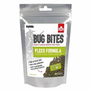 Fluval Bug Bites Pleco Sticks 130g. Fish Love Bugs!! And that's a fact, insects make up a large percentage of the diet of wild fish and recreating this has been the goal of many manufacturers