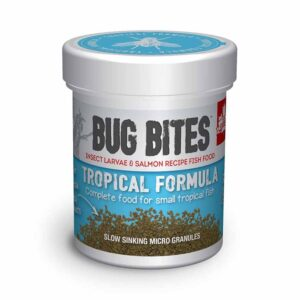 Fluval Bug Bites Tropical Micro Granules 45g Insect based food that fish go mad for.