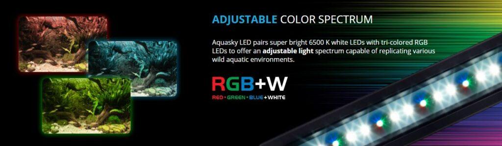 Aquasky colour mixes give you a massive choice