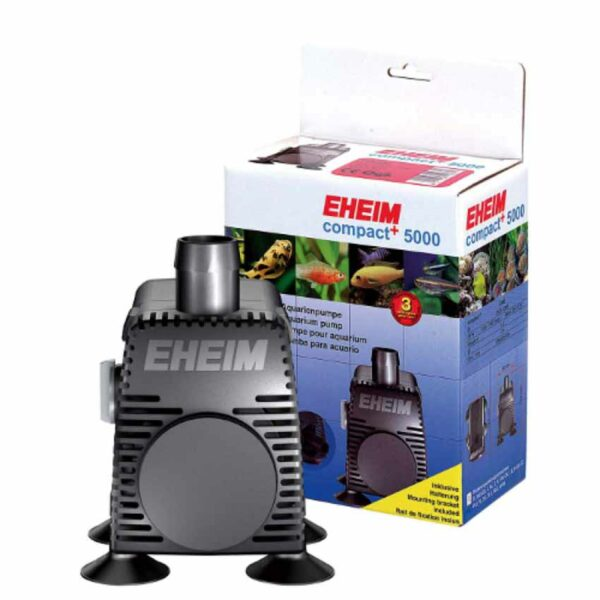 The Eheim Compact 5000+ is easy to conceal, quiet in operation, have an adjustable output and offer a low electrical consumption.