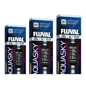 Fluval Aquasky Adjustable color spectrum with RGB + W output control